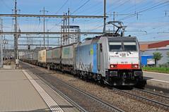 186105 - Pratteln (CH) 25/04/19 (James Welham) Tags: 186105 bls railpool pratteln basel bombardier traxx blsc ukv gotthard switzerland schweiz
