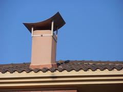 Vilafant (Alt Amporda) (visol) Tags: xemeneies xememeie xemeneie tximinia chimneys cheminées camino chamine chimeneas tejados teulades tejas tejado teulas barbacana