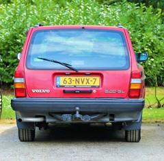 1991 Volvo 240 (Steenvoorde Leen - 13.8 ml views) Tags: carinthestreet volov volvo240 volvo245 stationcar stationwagen 1991volvo240