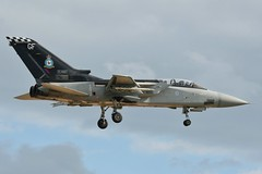 (scobie56) Tags: panavia tornado f3 ze887 gf 43 fighter squadron fighting cocks gloria finis raf royal air force leuchars fife scotland