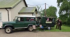 NAAFI chuck wagon at Bulmer (kitmasterbloke) Tags: bulmer suffolk vintage car vehicle outdoor uk transport