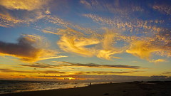 Amazing clouds on the beach (akovt) Tags: clouds sunset sea sky sun summer beach water nordsee amrum island germany schleswigholstein