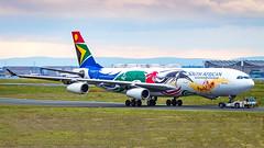 Airbus A340-313 ZS-SXD South African Airways - Team South Africa 2012 Livery (William Musculus) Tags: zssxd south african airways airbus a340313 team africa 2012 livery frankfurt am main rhein frankfurtmain flughafen fraport fra eddf william musculus aviation spotting airport airplane plane a340300 sa saa
