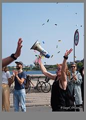 Copenhagen Marathon (cowgirl_dk) Tags: københavn copenhagen marathon maraton runners løbere norrebro nørrebro streetlife gadeliv danmark denmark olympus olympusomdem5mrkii lumixgvario14140mm udendørs outdoor by city byliv citylife sport