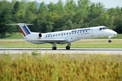 F-GRGG (cn 145118) Embraer EMB-145EU (ERJ-145EU) Air France (Regional Airlines)