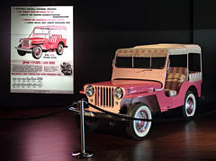 Elvis' Pink Jeep (Mr_Camera71) Tags: elvis presley jeep graceland memphis tennessee auto car aedimages canon tourist tourism