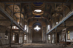 Synagogue, Vrbove, Slovakia (Julia Clay) Tags: abandoned urbex juliaclay derelict forgotten explore