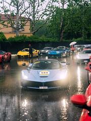 Blue LaF (Mattia Manzini Photography) Tags: ferrari laferrari supercar supercars cars car carspotting carbon nikon d750 v12 hypercar hybrid automotive automobili auto automobile italy italia modena rain bologna ferraritribute millemiglia