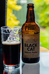 Glass of Black Cat Robust Porter from the Potton Brewery (Olympus OM-D EM1.2 & M.Zuiko 12-100mm f4 Pro Zoom) (1 of 1) (markdbaynham) Tags: beer birra cerveza craftbeer ale realale bottle blackcat porter darkbeer 12100mm 12100mmf4 zoomlens prozoom olympusmft olympusomd omd olympuspro olympusprolens em1 em12 em1ii em1mk2 em1mark2 mirrorless micro43 microfourthird microfourthirds mirrorlesscamera pottonbrewery mzd zd mzuiko zuikolic zuikozoom m43 m43rd