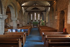 170-20180714_Weston under Penyard Church-Herefordshire-view down Nave from W end to Chancel Arch and Chancel at E end of Church-N Aisle on L (Nick Kaye) Tags: westonunderpenyard herefordshire england church
