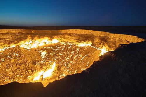 turkmenistan tor zur hölle