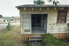 one step beyond (Super G) Tags: nikon313 abandoned housing steps stairs door window building peelingpaint