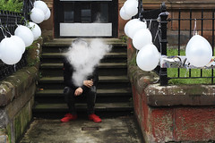 Glasgow, Scotland 2019 (Monserrat Orallo) Tags: streetphotography vapping street documentary everydaystreet