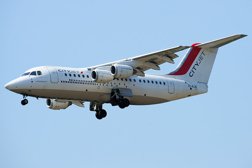 EI-RJN (cn E2351) British Aerospace Avro 146-RJ85 Air France (CityJet)