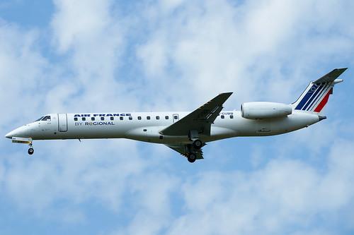 F-GUBB  (cn 145419) Embraer EMB-145MP (ERJ-145MP) Air France (Regional Airlines)