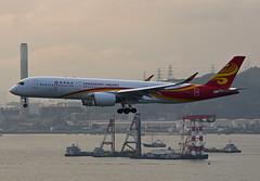 Hong Kong Airlines Airbus A350-941 B-LGH (EK056) Tags: hong kong airlines airbus a350941 blgh chek lap kok airport