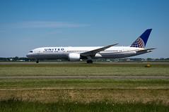 Boeing 787-9 Dreamliner United Airlines N29968 (Den Batter) Tags: nikon d7200 schiphol eham polderbaan boeing 787 7879 dreamliner unitedairlines n29968