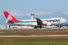 Cargolux Boeing 747-8F LX-VCI | Milano - Malpensa (MXP-LIMC) | 1st May 2019 (Brando Magnani) Tags: controltower aviation airplane aircraft malpensa landing 4engines freighter cargo boeing747 boeing cargolux