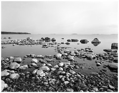 low tide (juhanflick) Tags: graflexsupergraphic superangulon90mm fomapan100 4x5 largeformat bw helsinki spring 2019