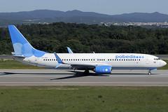 Pobeda B737-8MC VP-BQC GRO 12/05/2019 (jordi757) Tags: airplanes avions nikon d300 gro lege girona costabrava boeing 737 boeing737 b737 b737800 pobeda vpbqc