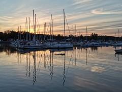 Sunset reflection, Tønsberg, Norway (KronaPhoto) Tags: