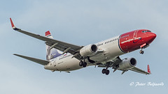 LN-NGC   Boeing 737-800 - Norwegian Air Shuttle (Peter Beljaards) Tags: msn39016 jensgladbalchen cfm567 boeing737800 737 b737 boeing737 budget nikon7003000mmf4556 ams eham airplane aircraft schiphol haarlemmermeer lnngc norwegianairshuttle norwegian final landing