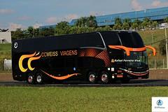 Ccweiss Turismo - 2019 (RV Photos) Tags: turismo bus onibus doubledecker br116 rodoviapresidentedutra ccweissviagens marcopolo marcopolog7new paradiso1800dd scania