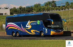 4S Turismo (RV Photos) Tags: turismo bus onibus trucado br116 rodoviapresidentedutra 4sturismo comil scania campionehd