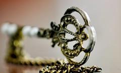 Brass Key (helensaarinen) Tags: macro pin jewelry macromondays copper