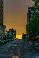 "Kansas City Streets at sunset (Robert Evans KC) Tags: art lightroom adobe ""nikon d3400 "" architecture cityscape sun sunset dslr ""digitial slr"" photograph camera nikon digital missouri photo photography america ""united states"" hobby wife ""jackson county"""