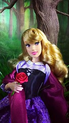 Briar Rose (custombase) Tags: disney store classics singing doll 2019 sleepingbeauty aurora briarrose forest toyphotography