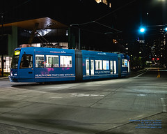 Seattle Streetcar Making A Turn In the Saturday Night (AvgeekJoe) Tags: 1835mmf18dchsm d7500 dslr kingcounty nikon nikond7500 seattle seattlestreetcar sigma1835mmf18 sigma1835mmf18dchsmart sigma1835mmf18dchsmartfornikon sigmaartlens southlakeunionline southlakeuniontrolley usa washington washingtonstate masstransit night nightphoto nightphotograph nightphotography nightshot publictransit publictransportation streetcar tram urbanrail