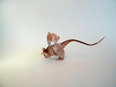Long-Tailed Monkey - Oriol Esteve (Rui.Roda) Tags: origami papiroflexia papierfalten mono de cola larga longtailed monkey oriol esteve