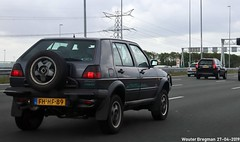 Volkswagen Golf Country 1992 (XBXG) Tags: fhhf89 volkswagen golf country 1992 volkswagengolf volkswagengolfcountry 4x4 4wd vw vwgolf golfii a1 muiden nederland holland netherlands paysbas youngtimer old german classic car auto automobile voiture ancienne allemande germany deutsch duits deutschland vehicle outdoor syncro
