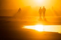 Famara mist (Miha Pavlin) Tags: lanzarote spain canary canaria island famara beach mist sunset silhouette goldenhour seaside