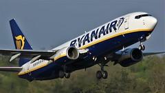 EI-ESN (AnDyMHoLdEn) Tags: ryanair 737 egcc airport manchester manchesterairport 23l