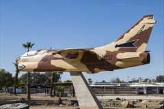 LTV A-7B Corsair II - 02 (NickJ 1972) Tags: naf elcentro airshow 2019 aviation ltv ling temco vought a7 corsair ii 164476 ac00