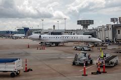 P1010773 (kuyu-peach) Tags: 2018 usa houston airport aviation unitedexpress cloud sky texas iah
