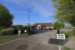 2019.05-02.0745csm Village Hall, Earswick nr York (mwe152) Tags: villagehall pollingstation earswick northriding northyorkshire york england british election yorkshire