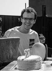 Happy 27th Phil (daveseargeant) Tags: birthday monochrome black white nikon df portrait medway rochester kent family