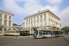 Generaties (Maurits van den Toorn) Tags: brussel bruxelles tram tramway tranvia villamos strassenbahn mivb stib koningsplein feest 150jaar nmvb sncv