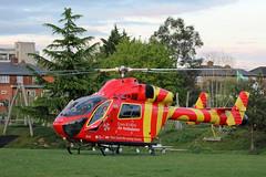 G-EHEM Essex & Herts Air Ambulance (kertappa) Tags: img8311 air ambulance herts hertfordshire essex hems doctor paramedics hospital gehem emergency helicopter harwoods adventurous playground watford
