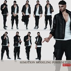 SEmotion Male Bento Modeling poses set 13 (Marie Sims) Tags: ao animations animation anim avatar animaitons animaions animated aohud animarions event 3d expression expressions emotion release review trendy trend unisex fun funny inworld onlyman man men pose posing poses photographer photosl photo ptoho mocap modeling model mood mesh male manavatar lelutka hot bento
