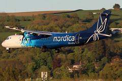 ES-ATA_05 (GH@BHD) Tags: esata atr atr72 atr72600 nordica bhd egac belfastcityairport aircraft aviation airliner turboprop