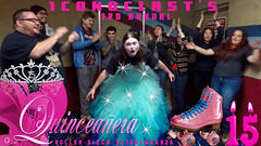 1CONOCLA5T's 3rd annual Quinceañera roller skating birthday time! (1CONOCLA5T) Tags: 15thbirthday rollerskating skating youtube youtuber birthday quinceañera iconoclast rollerdisco prettydress quincedress quince turning15 youtubeshow youtubevideo fifteenthbirthday