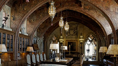 The Gothic Study (█ Slices of Light █▀ ▀ ▀) Tags: gothic study private william randolph hearst archway mural murals painted camille solon 3rd third floor casa grande castillo castle 赫斯特 赫斯特城堡 san simeon california 加州 加利 福尼亞 usa sony rx1rm2 rx1rii rx1r ii m2
