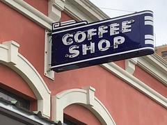 San Angelo, Texas (jericl cat) Tags: sanangelo texas coffee shop neon sign porcelain enamel