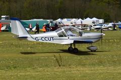G-CCUT Evektor EV-97 Eurostar (graham19492000) Tags: pophamairfield gccut evektor ev97 eurostar