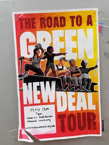 The road to a Green New Deal runs over Trump's impeached body.