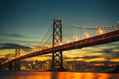 Sweet Illusions (Thomas Hawk) Tags: america bayarea baybridge california sf sfbayarea sanfrancisco usa unitedstates unitedstatesofamerica westcoast yerbabuenaisland bridge norcal sunset fav10 fav25 fav50 fav100